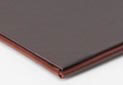 Del Mar bonded leather menu covers construction