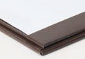 Del Mar permalin leatherette or book cloth menu covers Construction