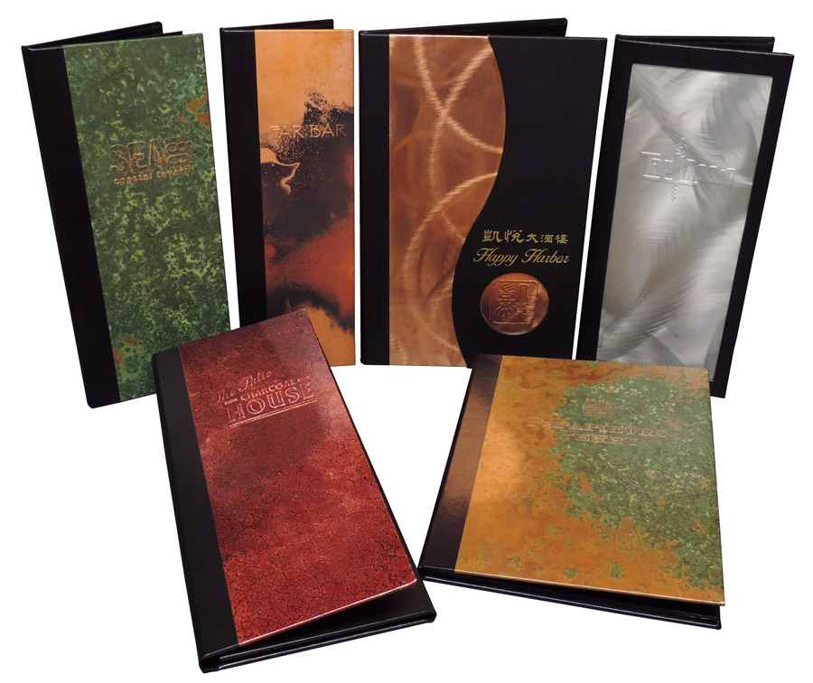 Metal Menu Covers