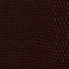 Del Mar Pellaq menu covers Pellaq Lizard Dark Burgundy Swatch